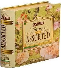 <b>Чай Basilur</b> Книга <b>Букет</b> (<b>ассорти</b>, 4вида <b>чая</b>), цена 3300 Тг ...