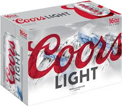 Coors Light Nutrition Facts 16 Oz Coors Light Beer American Light Lager 24 Pack Beer 16 Fl