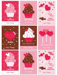 Day Cards To Print Valentines Print Cupcake Valentines Day Card Printable Valentines