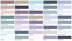 Lavender Paint Colors Chart House Paint Color Chart