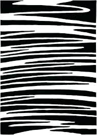 black and white rug target rugs area striped 9x12