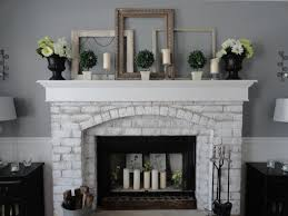 cool painted brick fireplaces on painted brick fireplace ideas for our home painted brick fireplaces