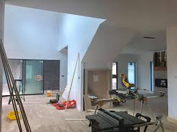 doing our touch ups on smooth walls and then we will bring our paint crew to transform this cool home close to ln foam drywall and paint let us be