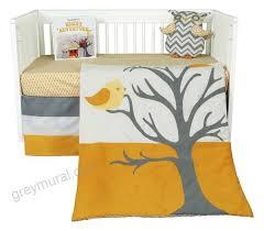 nightie night owl 5 piece crib bedding