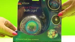Bath Mood Light Color Changing Led Bath Or Spa Light Unboxing Pool Test