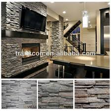 faux stone wall panels interior