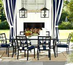 riviera rectangular dining table chair set z pottery barn outdoor chair covers pottery barn patio pillows pottery barn outdoor globe lights
