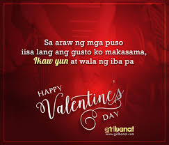 Tagalog Valentines Day Quotes That Will Touch Your Heart Girl Banat