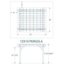Pergola Dimensions Nearmarket Com Co