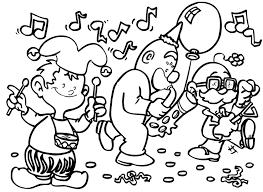 Carnaval Kleurplaten Animaatjesnl