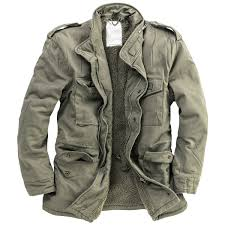 surplus paratrooper winter mens jacket m65 army military