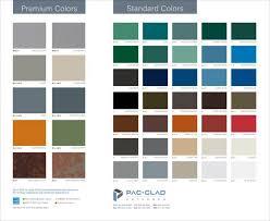 Seven New Pac Clad Colors Enhance Design Options For Metal