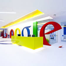 google office designs. The Office Is Meant To Accommodated 300 Staff Members And Houses Amenities Like Gym,spa Center Restaurant.The Colorful Interiors Look Very Dynamic Google Designs T