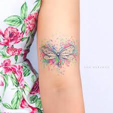 Dragonfly Tattoo By Ana Abrahao