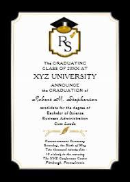Graduation Announcements College Template College Graduation Invitations Zazzle