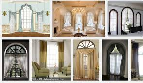 Amazing Of Easy Do It Yourself Arched Window Treatments Info Aboard Pictures