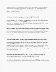 Professional Achievements Resume Sample Elegant Other Od Resumes