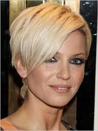 Frauen Kurz Blond Widder