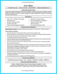Medical Coding Resume Medical Billing Resume Examples Foodcity Me