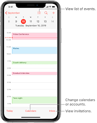 Calendars To Edit Create And Edit Events In Calendar On Iphone Apple Support