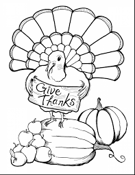 Awesome Of Thanksgiving Pages To Color For Free Images Printable