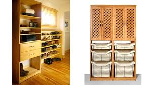 wood closet shelving. Closet System - Maple Spice Wood Shelving