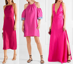 Think Pink! What Color Shoes to Wear with a Hot Pink Dress