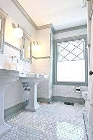 bathroom subway tile floor. White Subway Tile Bathroom Ideas Best On Homey Floor .