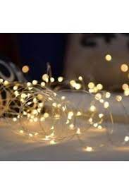 Beyaz Gelincik Tasarım Yılbaşı Ve Dekoratif Süsleme İçin Pilli Gün Işığı  Led Işık 3 mt Fiyatı, Yorumları - TRENDYOL