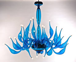 turquoise chandelier lighting. LU 14 Turquoise Chandelier Lighting D