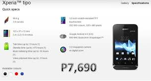 sony phone android price. what if sony xperia android phone became available at price range of p5,000? would you prefer it as your new mobile brand?