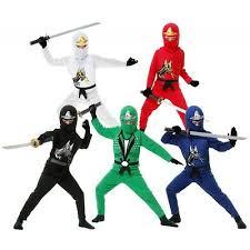Ninja Suit Size Chart Ninja Costume Kids Ninjago Halloween Fancy Dress Ebay