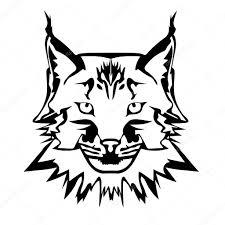 картинки черные тату векторная иллюстрация лица черные и белые тату