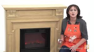 real flame kristine indoor antique white electric fireplace the home depot you