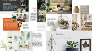 Plant Layout Design Course Magazine Design Start To Finish The Inside Pages