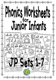 Get all these free phonics worksheets to help students become more comfortable with reading. Junior Infants Phonics Worksheets Sets 1 7 Bundle Mash Ie