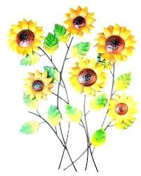 sunflower wall art sunflower metal art metal sunflower wall art wall art metal wall art sunflower
