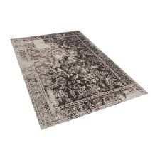 vintage rug 140 x 200 cm brown argos on