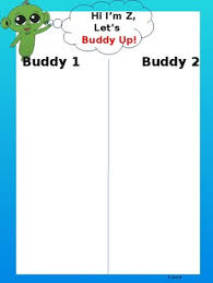 Sanford One Chart Buddy Up With Z Poster Anchor Chart