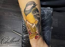 татуировки с птицами значение фото Chillout Tattoo Workshop