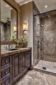 Glass Enclosed Showers luxurious marble bathroom with glass enclosed shower this bathroom 8942 by xevi.us