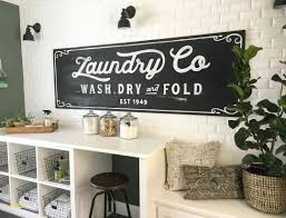 laundry room wall decor