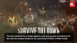 PUBG Mobile Next Zombies Update: The ...