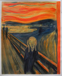 the scream edvard munch hand painted oil painting replica