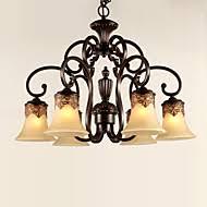 cheap vintage lighting. 6-Light Chandelier Ambient Light - Crystal, 110-120V / 220-240V Bulb Not  Included 20-30㎡ E26 E27 Cheap Vintage Lighting G