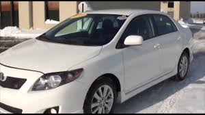 2010 Toyota Corolla S Sport Package Excellence Cars Direct ...