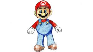Comment Dessiner Mario Bros Tutoriel Youtube