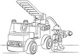 Camion Pompieri Lego Da Colorare Disegni Da Colorare E Stampare