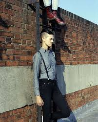 Obsessing: Harmony Boucher & Polly Spencer | Androgyny fashion, Lesbian  fashion, People clothes