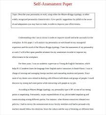 evaluation example essay it employee self assessment personal evaluation examples